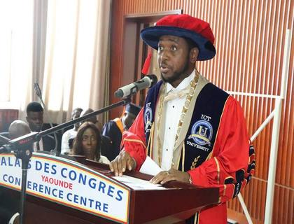 The ICT University USA, Cameroon Campus 5th Graduation Ceremony in Yaounde