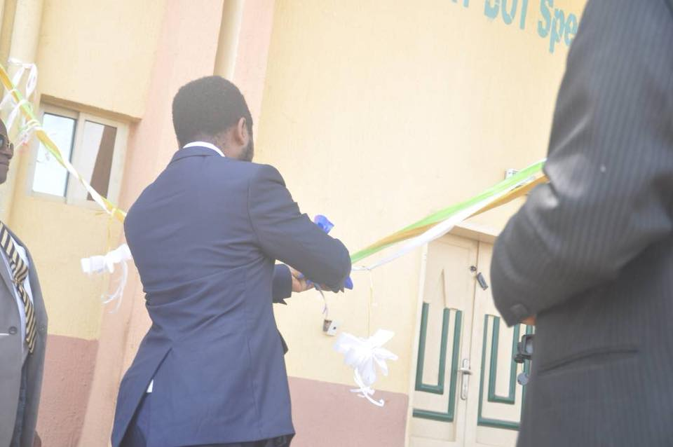 Ribbon Cutting to Commission a New Building at Enugu Institution of Higher Learning