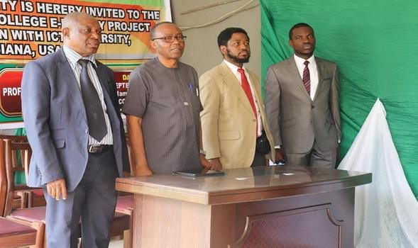 The ICT University Donates an E-Library to The Federal College of Education, Nigeria