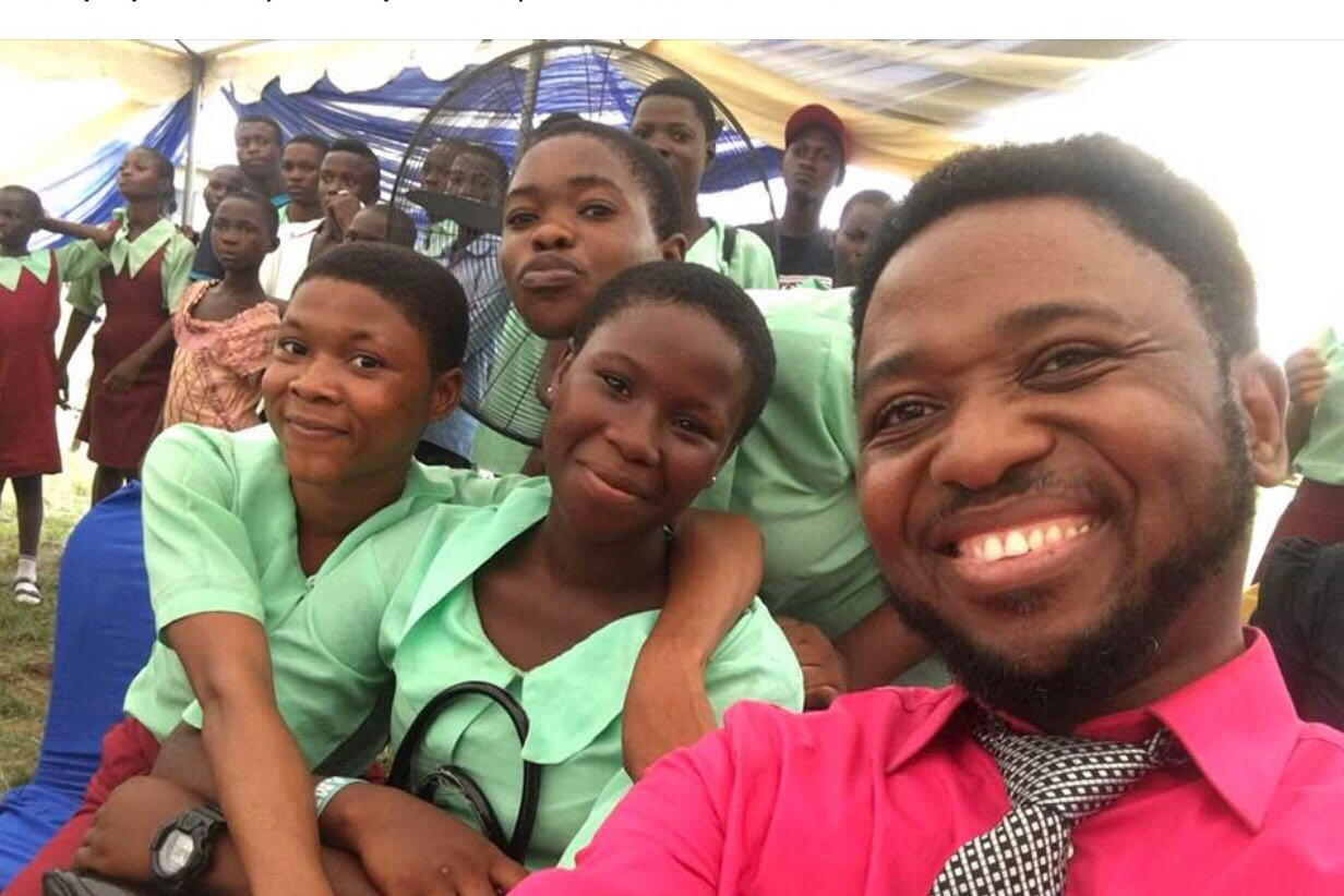 Priceless Moment: Happy girls at Okitipupa Secondary School