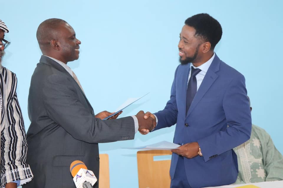 The ICT University Donates $75,000 of scholarships to The Blind in Cameroon