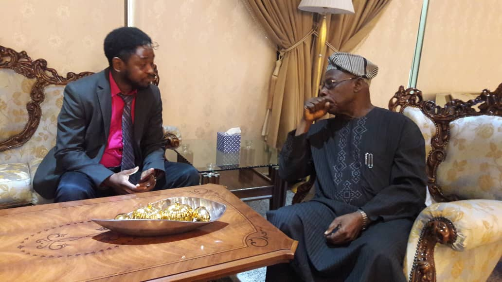 Meeting with His Excellency President Olusegun Obasanjo