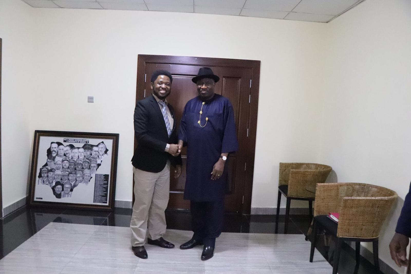 Meeting with His Excellency President Goodluck Jonathan, President of Nigeria.