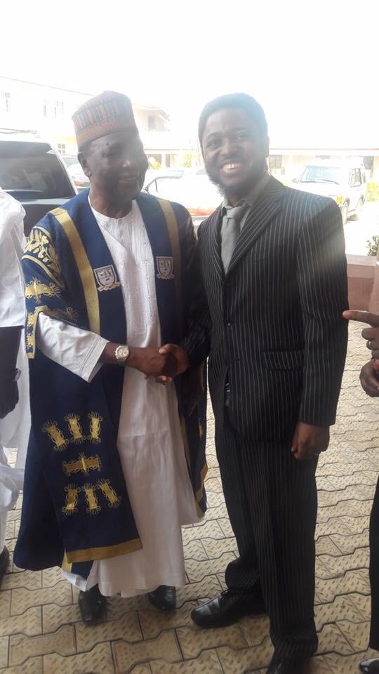 "Meeting with His Excellency President Yakubu ""Jack"" Dan-Yumma Gowon"