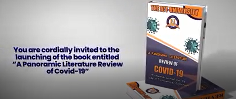 The ICT University announces the launching of its book on COVID-19 in Africa