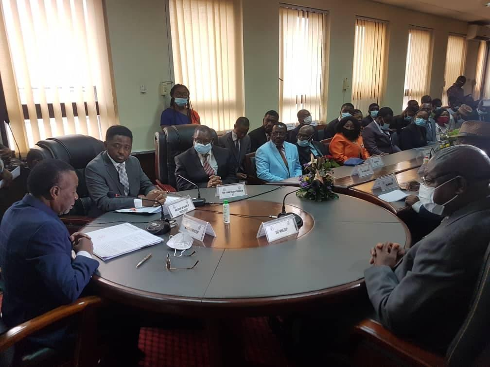 MOU Signing between Cameroon's Ministry of Higher Education (MINESUP) and the ICT University– offering scholarships to young Cameroonians.