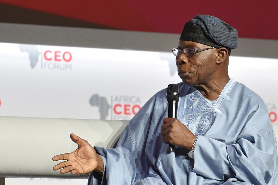 BE LEADERS OF TODAY NOT TOMORROW-FORMER NIGERIAN PRESIDENT OLUSEGUN OBASANJO TASKS AFRICAN YOUTH
