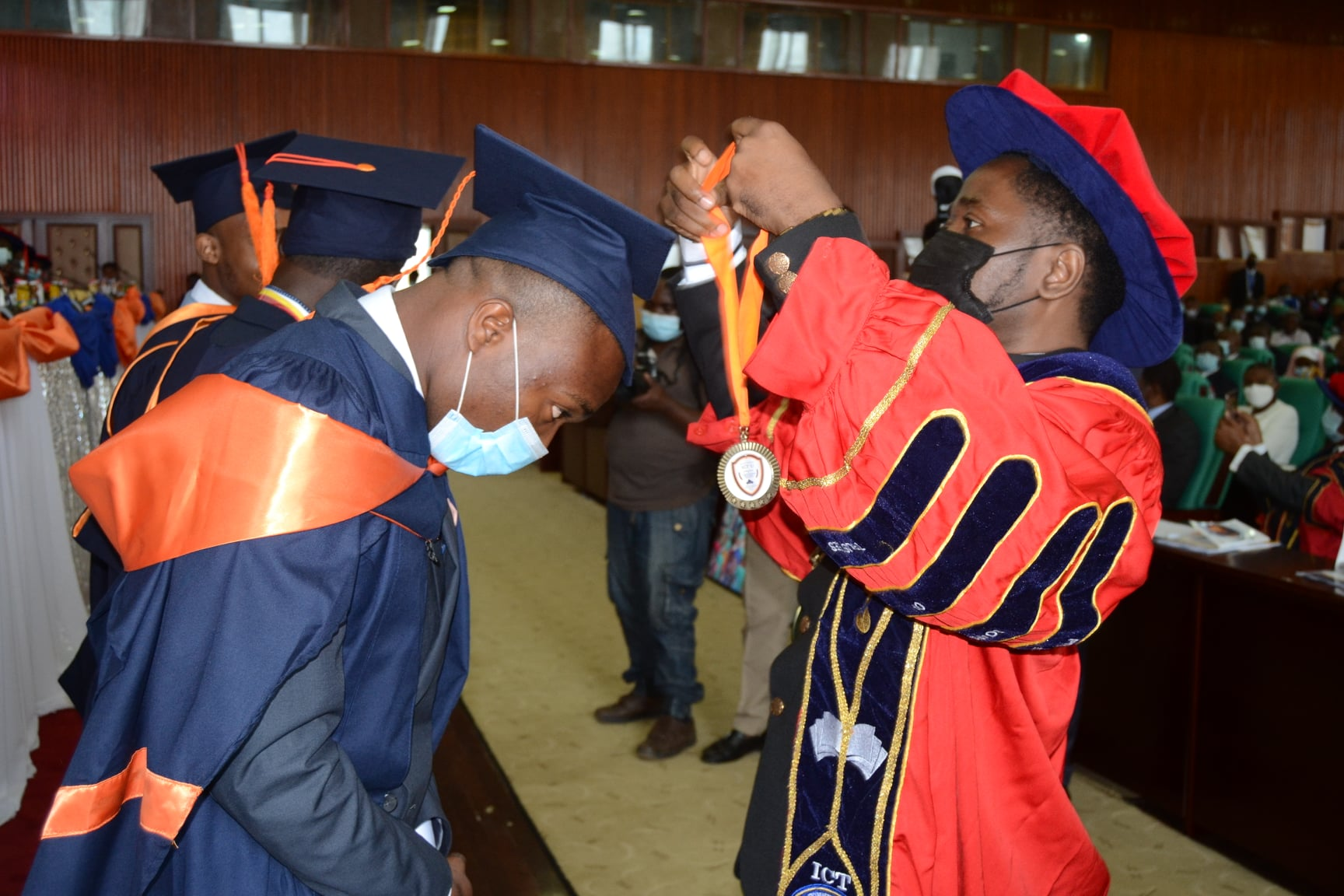 2021 ICT University Graduates Enjoined to be Humble, Creative, Committed