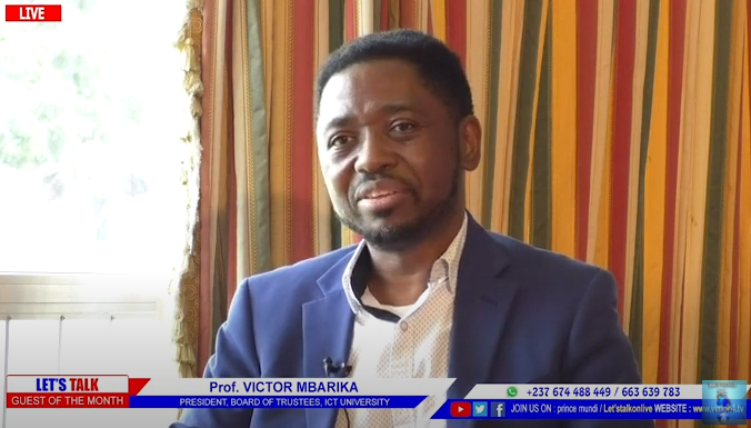 Prof. Mbarika's August 2021 National TV interview with Vision 4
